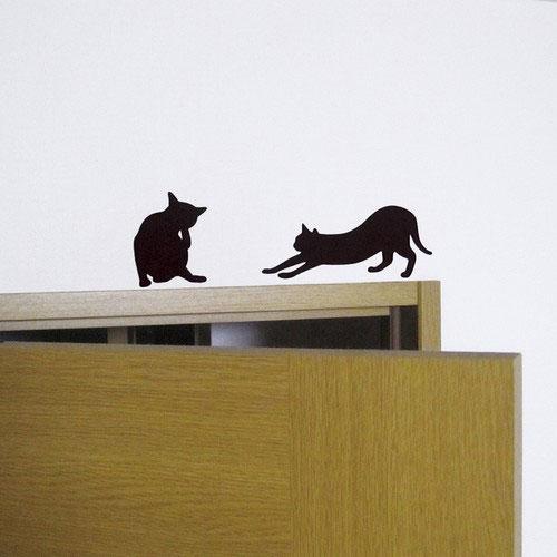 各种动物脚印剪影